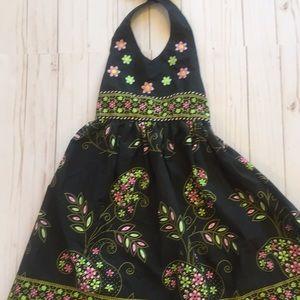 Blueberi Boulevard halter dress size 5